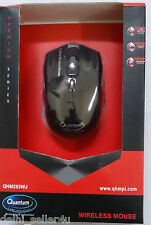 Quantum Wireless Mouse 1600dpi QHM262W USB 2.4 Ghz Receiver 10 meter Range Bill