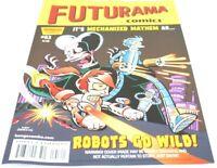 FUTURAMA #63 Comic Bongo Fry Bender Leela Prof Farnsworth New Item more in store