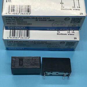 1Pc Omron G2RL-1A-E-CV DC12V Power Relay 16A 250VAC 6Pins
