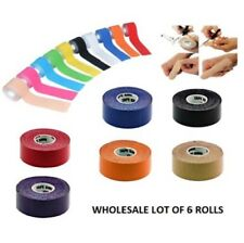 "Wholesale Lot of 6 Rolls of Bowling Thumb Finger Protection Tape 1"" x 196"""