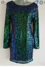 Bnwt Green Purple Mermaid Dress Size 14