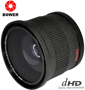 Bower 0.42X HD Wide Angle FishEye Lens 72MM for Camera Camcorder Lens 82MM FRONT