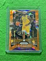 DEMARCUS COUSINS ORANGE CRACKED ICE CARD LAKERS 2019-20 PRIZM BASKETBALL REFRACT