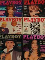 6 Must Have 80's Playboy Magazines #3094