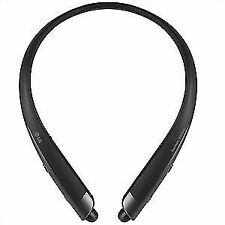 New LG HBS-930 Tone Platinum Alpha Bluetooth Stereo Retractable Headset - Black