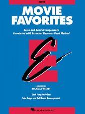 Movie Favorites Flute Essential Elements Band Folios Book New 000860009