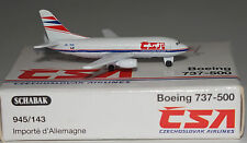 Schabak Boeing 737-55S CSA Czech Airlines OK-XGA 1st Version in 1:600 scale