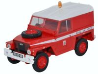 OXFORD NLRL003 1:148th & 43LRL003 1:43 LAND ROVER RAF RED ARROWS diecast models