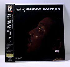 The Best Of MUDDY WATERS 200-gram MONO VINYL LP Sealed JAPAN 2007 Obi strip