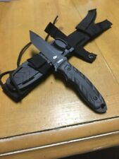RARE/DISCONTINUED Gerber USA-CFB Combat Knife- 154cm Fixed Blade /w Sheath