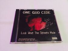 One Gud Cide-Look What The Streets MADE ULTRA RARE G-funk rap HARD TO FIND 1996