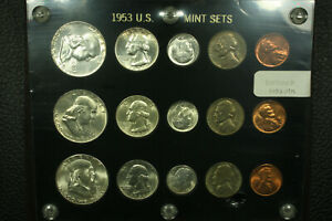 United States. 1953 PDS Silver Mint Birth Year 15 Coin Set.