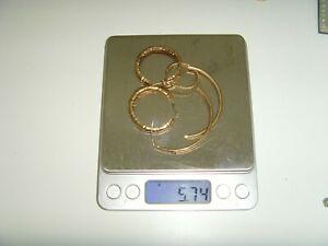 9CT SCRAP GOLD 5.74 GRAMS