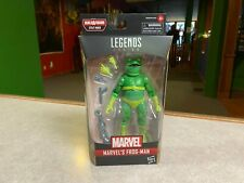 "Marvel Legends 6"" BAF STILTMAN Spider-Man Into The Spider-Verse NIP New FROG-MAN"