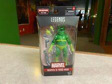 """Marvel Legends 6"""" Baf Stiltman Spider-Man Into The Spider-Verse Nip New Frog-Man"""