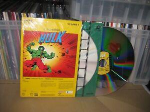 EL INCREIBLE HULK  LASER DISC