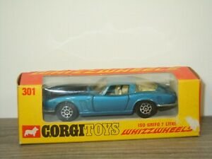 Iso Grifo 7 Litre - Corgi Toys 301 England in Box *53542