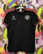 Manchester United FC Football Shirt Soccer Jersey Polo Top Adidas 2015 Mens M