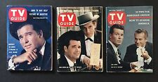 3 issues of TV Guide All From 1950s for Maverick - James Garner, Jack Kelly