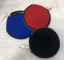 ikea cd storage travel soft case Lot If 3 Red Black Blue