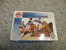 Airfix 1/72 Waterloo British Cavalry brown figures 1986 issue box