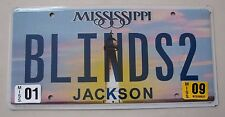 "MISS  VANITY LICENSE PLATE "" BLINDS 2 "" WINDOW COVERING MINI-BLIND SHADE COVER"
