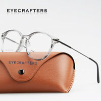 New Women Men Vintage Eyeglass Frames Glasses Retro Metal Clear Lens Eyewear
