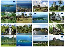 Micronesia Pohnpei Palikir Church Waterfall Yap Nan Madol UNESCO New Postcard