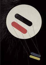 "Laszlo Moholy-Nagy ""srho 1"" 250gsm Bauhaus constructivismo Cartel"