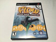 Flow Urban Dance Uprising (Playstation PS2) Original Complete LN Perfect Mint!
