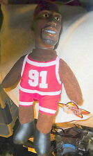 New Star Sacks DENNIS RODMAN Chicago Bulls NBA basketball doll,figure,color hair