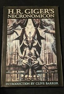 Necronomicon by H.R. Giger (First United States Edition, 1991)(Very Good)