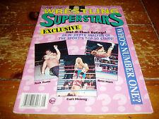 Wrestling Superstars Magazine August 1993 Issue WWF / WWE