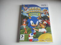 JEU WII - SEGA SUPERSTARS TENNIS  - Avec notice