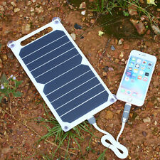 5V Solar Charging Panel Charger USB For Mobile Smart Phone iPhone Samsung