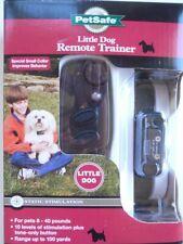 New PETSAFE Little Dog REMOTE TRAINER System Stimulation Collar Up 100 Yds NIB