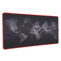 30cm x 70cm Large World Map Gaming Mouse Mat Pad For PC Laptop Computer Keyboard