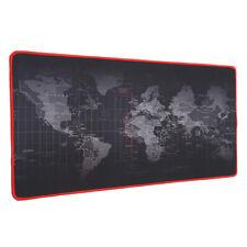 Weltkarte Mousepad Gaming & Office Pad 70x30x0.2cm Mausmatte Mausunterlage