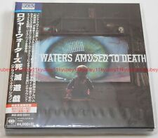 Roger Waters Amused To Death DELUX EDITION Blu-spec CD2 CD Blu-ray Japan Limited
