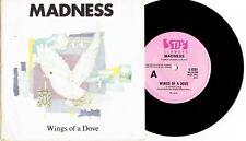"MADNESS - WINGS OF A DOVE - RARE 7"" 45 RECORD w PICT SLV - 1983"