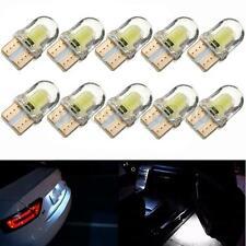 10x T10 194 168 W5W COB LED CANBUS Silica Bright White License Plate Light Bulb