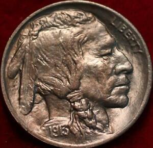 Uncirculated 1913 Type I Philadelphia Mint Buffalo Nickel