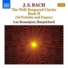 Bach: Well-Tempered Clavier, Book 2, New Music