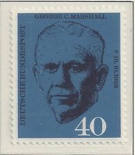 BRD 1960 MiNr. 344-345 George Marshall Deutsche Eisenbahnen **