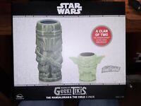 Star Wars Geeki Tiki Mug Mandalorian Force Child/Mando NEW Baby Yoda Celebration