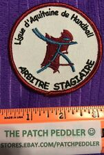 RARE French Patch French Referee Trainee For Aquitaine Handball League #3U