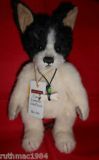 Charlie Bears CASSIE the Minimo Dog 2016 Collection ~ Isabelle Lee ALPACA Mohair