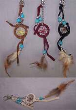 Hand Made Tribal  Dream Catcher Key Chains Wholesale 6 Pc Lot  ( NpDc217-6 ^)