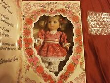 MARIE OSMOND VALENTINE 1995 GREETING CARD DOLL PORCELAIN  5.5 IN NIB LTD ED