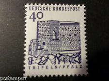 ALLEMAGNE FEDERALE, RFA 1964 GERMANY, TP 325, EDIFICES HISTORIQUES, neuf** MNH